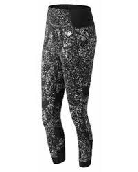 New Balance Women's <b>Printed Evolve Tight</b> Off White