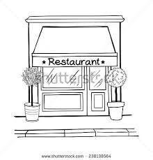 restaurant building clipart black and white. Wonderful And Restaurant Building Clipart Black And White To Restaurant Building Clipart Black And White ClipartXtras