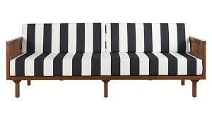 black and white striped furniture. tropez black and white stripe sofa striped furniture e