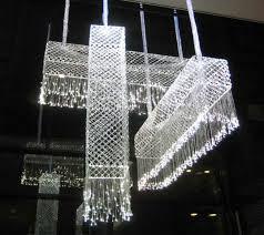woven fiberoptic chandeliers inhabitat green design innovation architecture green building