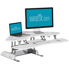 office supplies for cubicles. VARIDESK - Height-Adjustable Standing Desk For Cubicles Cube Corner 48 Office Supplies Cubicles