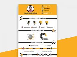 Infographic Resume Template Free Download Resumekraft