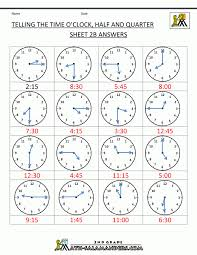 Telling Time Math Worksheets Read Analog Minutes 01 001 Pin ...