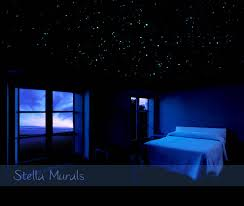 Night Glow Stars for Bedroom Ceiling 600 Removable Glow Star