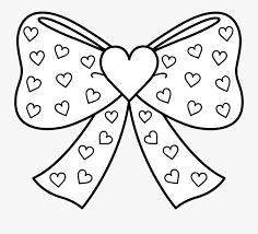 Want to discover art related to jojosiwa? Bow With Hearts Coloring Page Printable Jojo Siwa Coloring Page Free Transparent Clipart Clipartkey