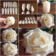 How To Make Rose Flower With Tissue Paper 53 Delectable How Do I Make A Rose Out Of Tissue Paper