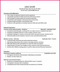 Internshipsesume Examples Experience First Time Internship Cover