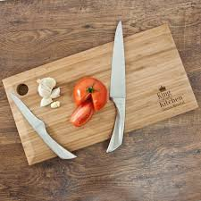 personalised king of the kitchen chopping board menkind