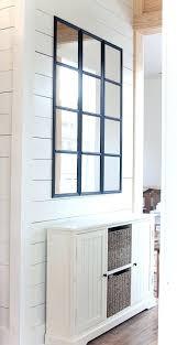 pane mirror wall decor window