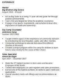 Resume Volunteer Experience On Resume Examples Best Inspiration