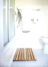 ... Large Image for Teak Bath Mats 7 Bath Mat Ideas To Make Your Bathroom  Feel More ...