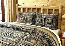 toile quilt set brown quilt black and cream sheets black log cabin quilt set cream tan toile quilt