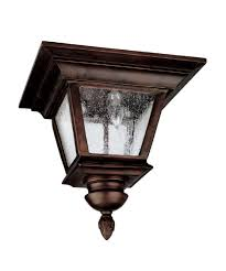 Capital Lighting  Brookwood  Inch Wide  Light Outdoor Flush - Flush mount exterior light fixtures