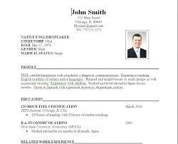 Resume For Job Format 60 cv format for job pdf emmalbell 50