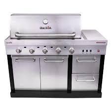 char broil modular outdoor kitchen 5 burner tru infrared modular gas grill