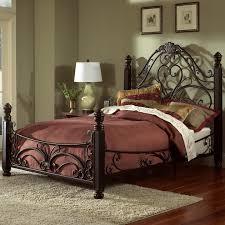 Largo King Metal Bed Frame Headboard Footboard Diana Bed Ivan Smith  Furniture Image 26