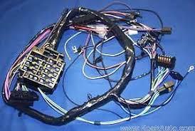 1964 67 pontiac gto lemans tempest dash wiring harness