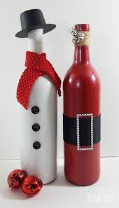 How To Decorate A Bottle Of Wine Holiday Wine Bottle Bottle Wine and Holidays 37