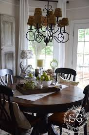 Everyday dining table decor Rectangular via Stonegable Tidbits Twine Dining Table Decor for An Everyday Look Tidbitstwine