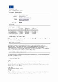 Resume Cv Format Download Awesome Cv Template Uk Word Mini Mfagency