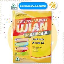 Di pelajaran bahasa indonesia ini sobat diforsir berfikir secara sabar dan cepat. Jual Buku Akasia 2020 Pemantapan Persiapan Ujian Akasia Smp 2020 Kunci Jakarta Pusat Nirbana Olstore12 Tokopedia
