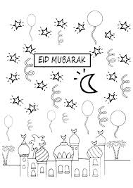Image of the celebration of ramadan. Ramadan Coloring Pages Books 100 Free And Printable