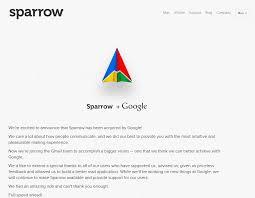 Бизнес линч Ѣ  google купила sparrow