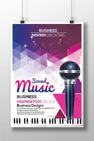 Free Music Poster Templates Creative Music Poster Templates Template Psd Free Download