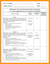 Evacuation Plan Sample Emergency Evacuation Plan Template