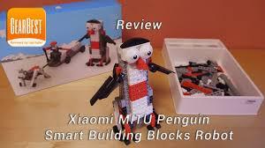 Review <b>Xiaomi</b> MITU Penguin Smart Building Blocks <b>Robot</b> - YouTube