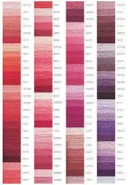 Dmc Colour Chart Download Dmc Color Chart