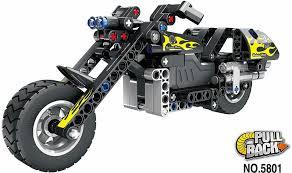 Купить <b>Конструктор QiHui Technics Мотоцикл</b> инерция, 183 ...