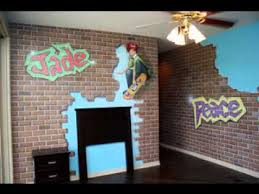Skateboard bedroom decorating ideas