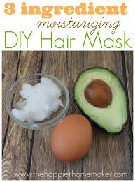 easy diy moisturizing hair mask
