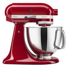 kitchenaid artisan series 5 quart tilt head stand mixer empire red ksm150pser com