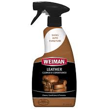 weiman leather cleaner and conditioner 16 ounce