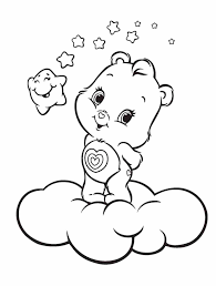 Small Picture Printable Care Bear Coloring Pages For Kids Polar Free Coloring