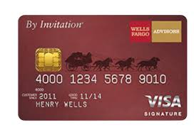 Maybe you would like to learn more about one of these? Wells Fargo Advisors By Invitation Visa Signature