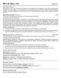Example Financial Manager Resume Free Sample Resume Templates