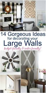 Decorating A Large Wall 397 Best Diy Wall Art Ideas Images On Pinterest