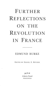 further reflections on the french revolution online library of  0006 tp