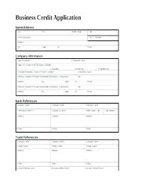 Account Form Template Wholesale Account Application Form Template