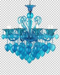 light chandelier aqua glass blue furniture chandelier creative european blue cartoon crystal lamp