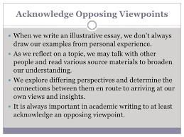 illustrative essays cccti <br > 10