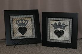 King And Queen Decor Lizs Paper Loft March 2010