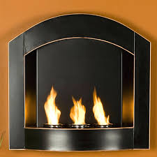 wall mounted gel fireplace reviews fireplaces stainless
