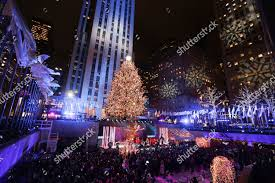 People Attend 86th Annual Rockefeller Center Christmas