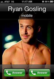 Hollywood Memes: When Ryan Gosling Calls... • The Leek via Relatably.com