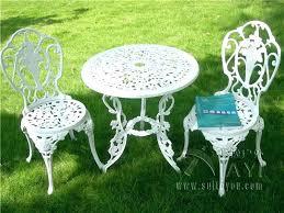 white iron patio furniture.  Patio White Metal Outdoor Furniture Patio Dining Sets  To White Iron Patio Furniture P