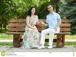 Lovers Sit On A Bench Stock Photos  Image 27326443Sit Bench